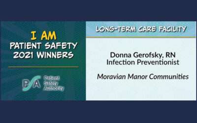 """MMC Honored with Prestigious State-Wide """"I Am Patient Safety"""" Award"""