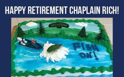 Farewell to Chaplain Rich